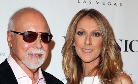 Rene Angelil and Celine Dion: 'Veronic Voices' Media Night