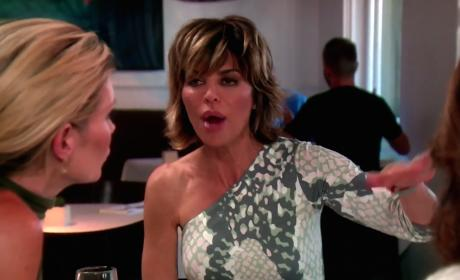 Lisa Rinna on the Warpath
