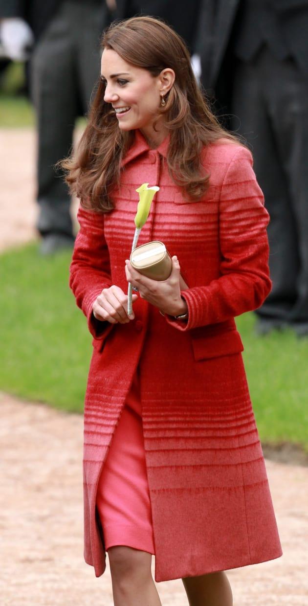 Kate Middleton in Jonathan Saunders