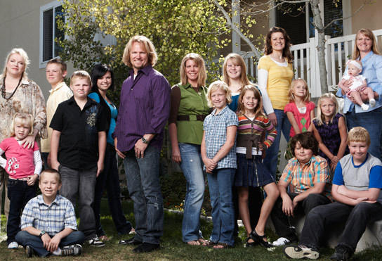 Sister Wives Family Picture