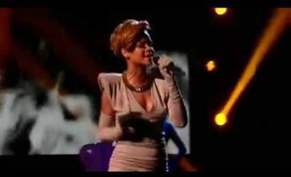 """Rihanna's """"Russian Roulette"""" Rocks X-Factor"""