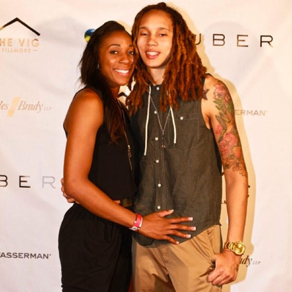 Brittney Griner and Glory Johnson