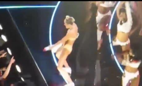 Miley Cyrus VMA Performances: Too Far?