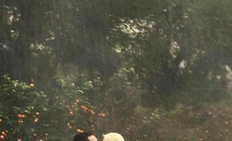Christina Aguilera Embraces Matt Rutler