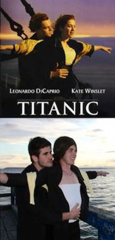Friends Recreate Famous Movie Posters The Hollywood Gossip