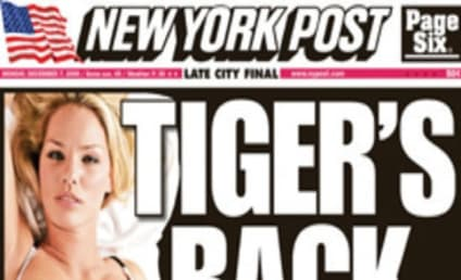 Make it Six: Cori Rist Covers N.Y. Newspapers, Joins Elite Group of Tiger Woods Mistresses