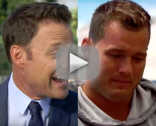 Chris harrison colton underwood is gonna cry a lot on the bachel