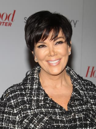 Kris Jenner Close Up