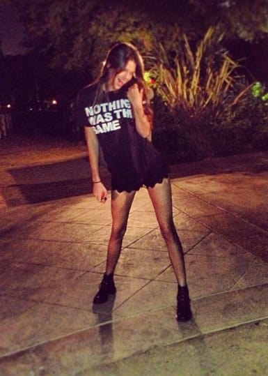 Kendall Jenner No Pants