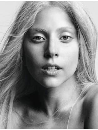 Lady Gaga Makeup Free