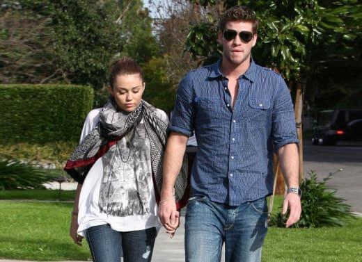Couple's Stroll