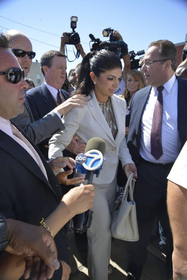 Teresa Giudice Goes to Court