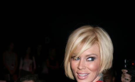 Jenna Jameson Red Dress