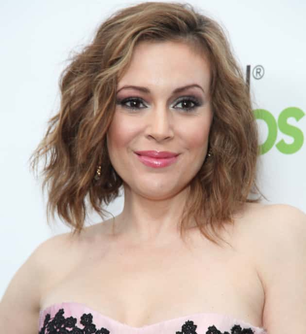 Alyssa Milano Red Carpet Pic