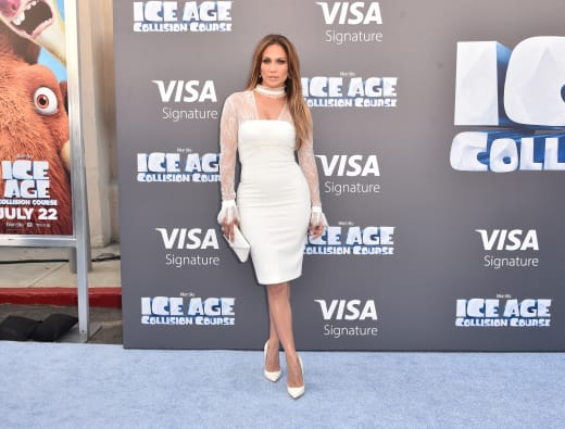 Jennifer Lopez Ice Age Collision Course Pic