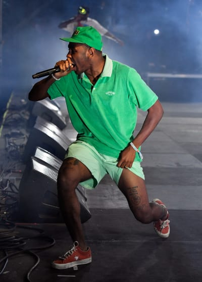 Tyler, The Creator on Stage