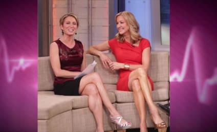 Amy Robach Slams Lara Spencer as Shameless Flirt, GMA Feud Intensifies