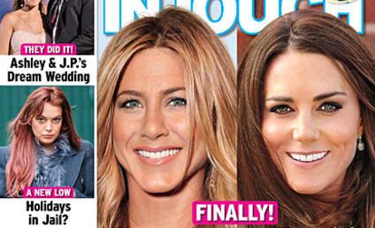 Jennifer Aniston Totally Pregnant Too, Tabloid Claims!