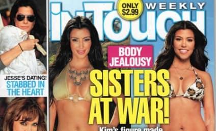 Kim Kardashian vs. Kourtney Kardashian: Battle of the Bikini Bodies!