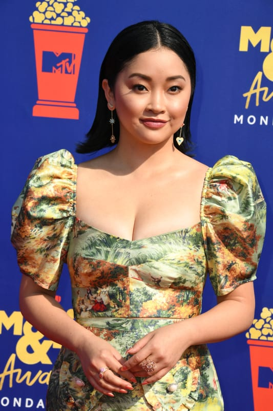 Lana condor at mtv movie and tv awards