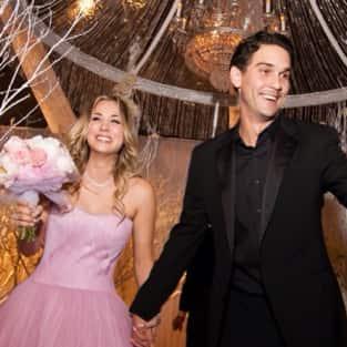 Kaley Cuoco, Ryan Sweeting Wedding Pic