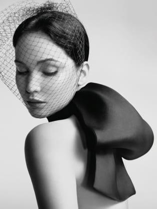 Jennifer Lawrence in Black/White
