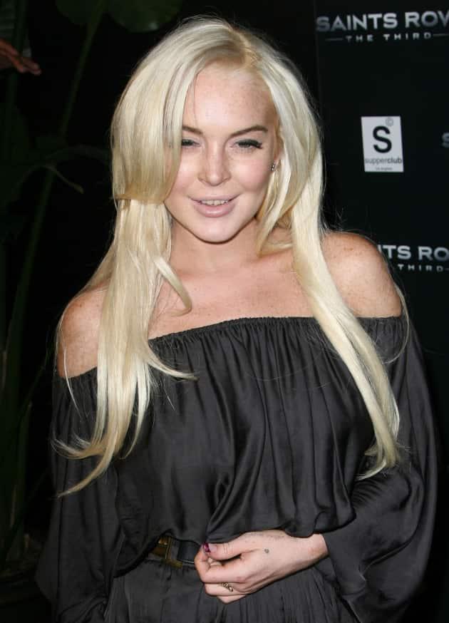 Pretty Lindsay Lohan