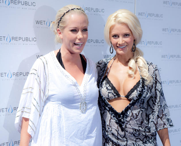 Kendra Wilkinson and Holly Madison