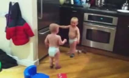 Twin Baby Boys Have INTENSE Discussion