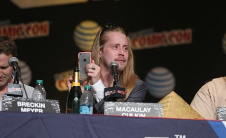 Macaulay Culkin Adult Swim Panel Pic