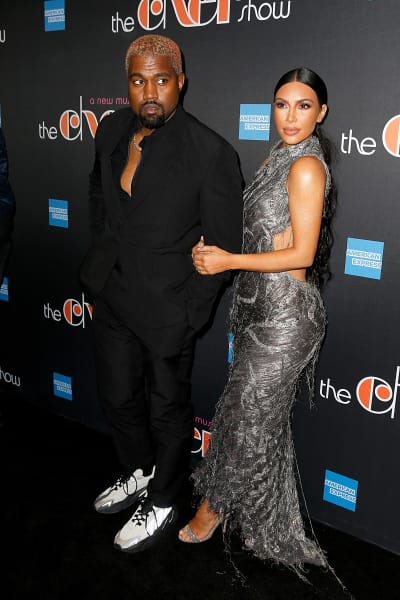 Kimye at the Cher Show