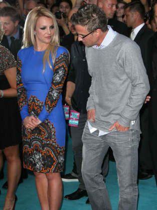 Jason Trawick With Britney Spears Pic