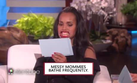 Kerry Washington Prepares for Return of Scandal... In Hilarious Fashion
