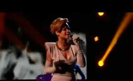 Rihanna on X-Factor