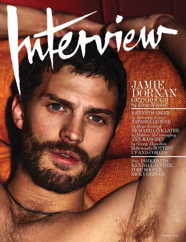 Jamie Dornan Interview Cover