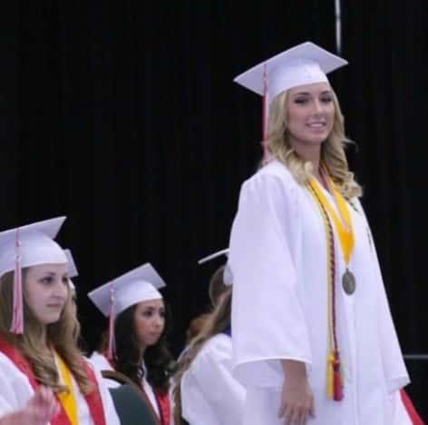 Hailie Scott Graduation Pic