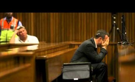 Oscar Pistorius Throws Up in Court