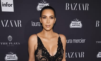 Kim Kardashian Throws Major Underboob Shade at Kendall Jenner