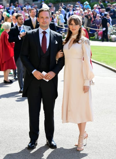 Patrick J. Adams at Royal Wedding