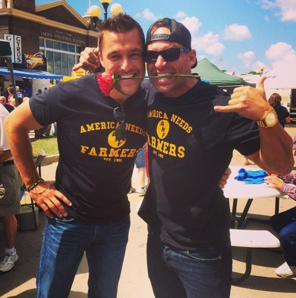 Chris Soules and Cody Sattler