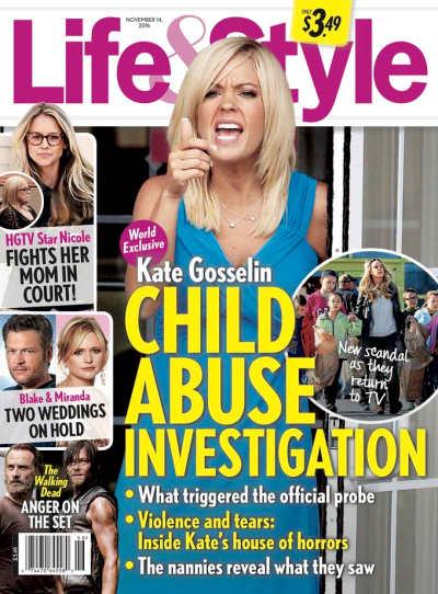 Kate Gosselin Child Abuse Photo