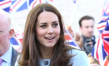 Kate Middleton: In Labor!