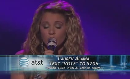 Lauren Alaina: Best American Idol Performance of the Night?