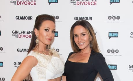 Teresa Aprea Nicole Napolitano Girlfriends Guide To Divorce Premiere