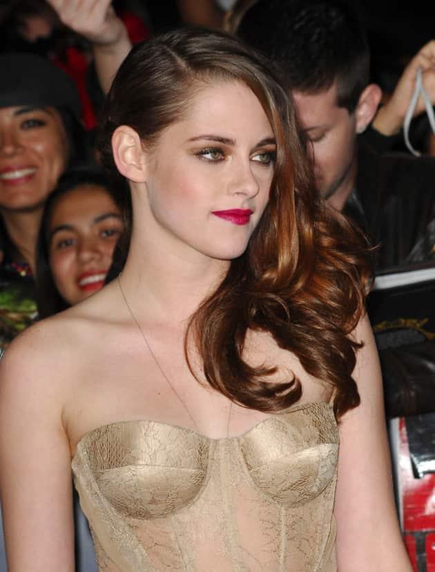 Kristen Stewart in Gold