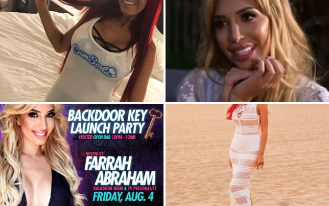 Farrah abraham in camsoda merch