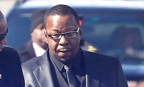 Bobby Brown Funeral Pic