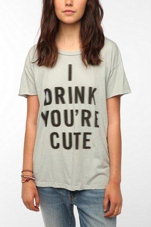 Urban Outfitters Drinking Shirt