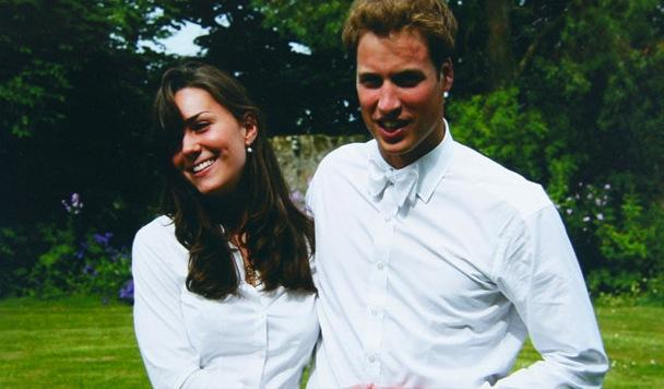 Vintage Kate Middleton and Prince William
