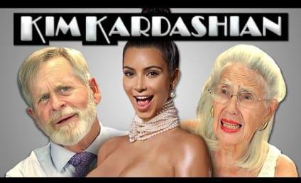 Old People React to Sight of Kim Kardashian Nude